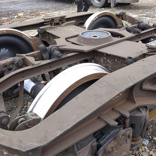 Serwis Pojazdów Kolejowych - naprawa zestawów kołowych